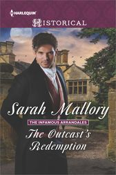The Outcast's Redemption by Sarah Mallory