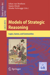Models of Strategic Reasoning by Johan van Benthem