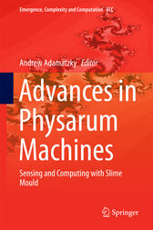 Advances in Physarum Machines by Andrew Adamatzky