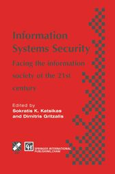 Information Systems Security by Sokratis Katsikas