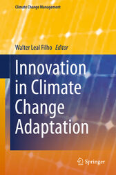 Innovation in Climate Change Adaptation by Walter Leal