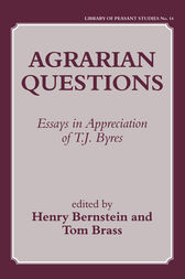 Agrarian Questions by Henry Bernstein