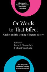 Or Words to That Effect by Daniel F. Chamberlain