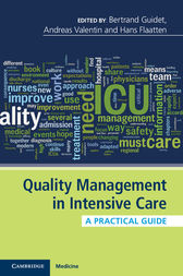 Quality Management in Intensive Care by Bertrand Guidet