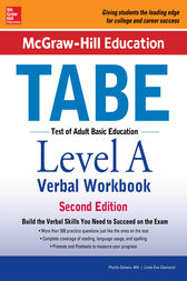McGraw-Hill Education TABE Level A Verbal Workbook, Second Edition by Phyllis Dutwin