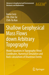 Shallow Geophysical Mass Flows down Arbitrary Topography by Ioana Luca