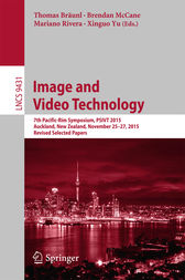 Image and Video Technology by Thomas Bräunl