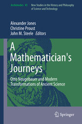 A Mathematician's Journeys by Alexander Jones