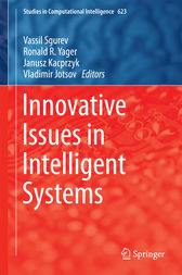Innovative Issues in Intelligent Systems by Vassil Sgurev