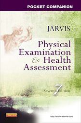 Pocket Companion for Physical Examination and Health Assessment by Carolyn Jarvis