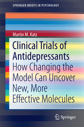 Clinical Trials of Antidepressants by Martin M. Katz