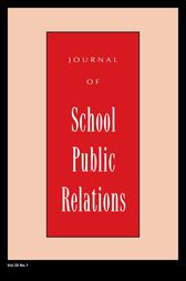 Jspr Vol 30-N1 by Journal of School Public Relations