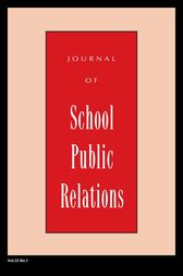 Jspr Vol 33-N1 by Journal of School Public Relations