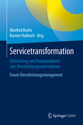 Servicetransformation by Manfred Bruhn