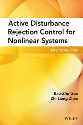 Active Disturbance Rejection Control for Nonlinear Systems by Bao-Zhu Guo