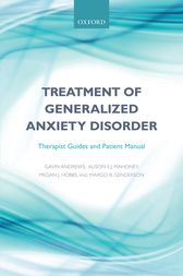 Treatment of generalized anxiety disorder by Gavin Andrews