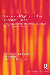 Human Rights in the Market Place by Christopher Harding
