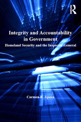 Integrity and Accountability in Government by Carmen R. Apaza