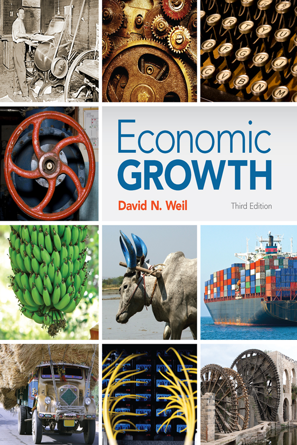 Download Ebook Economic Growth (3rd ed.) by David Weil Pdf