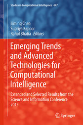 Emerging Trends and Advanced Technologies for Computational Intelligence by Liming Chen