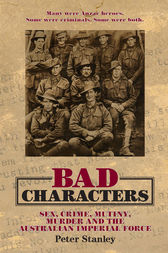 Bad Characters by Peter Stanley
