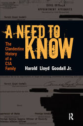 A Need to Know by H.L. Goodall Jr