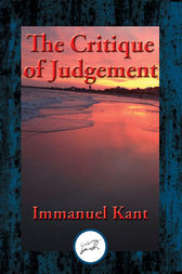 The Critique of Judgment: With Linked Table of Contents