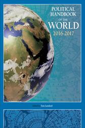 Political Handbook of the World 2016-2017 by Tom Lansford