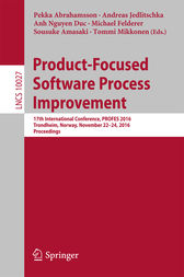 Product-Focused Software Process Improvement by Pekka Abrahamsson