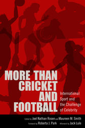 More than Cricket and Football by Joel Nathan Rosen