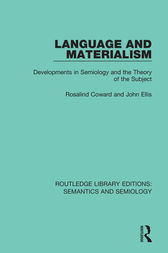 Language and Materialism by Rosalind Coward