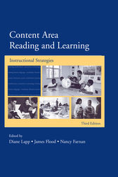 Content Area Reading and Learning by Diane Lapp