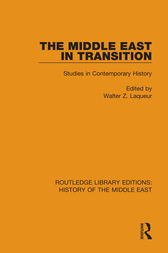 The Middle East in Transition by Walter Z. Laqueur