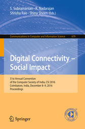 Digital Connectivity – Social Impact by S. Subramanian