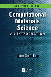 Computational Materials Science by June Gunn Lee