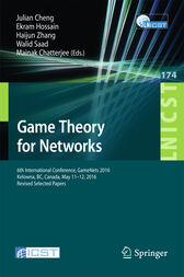 Game Theory for Networks by Julian Cheng
