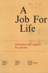 A Job for Life by Gillian Pugh