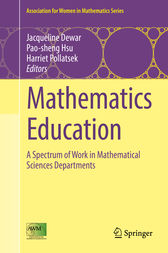 Mathematics Education by Jacqueline Dewar