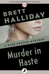 Murder in Haste by Brett Halliday
