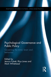 Psychological Governance and Public Policy by Jessica Pykett