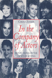 In the Company of Actors by Carole Zucker