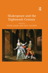 Shakespeare and the Eighteenth Century by Peter Sabor