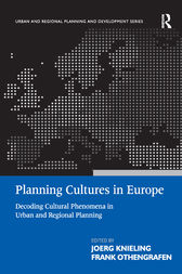 Planning Cultures in Europe by Frank Othengrafen