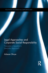 Legal Approaches and Corporate Social Responsibility by Adaeze Okoye