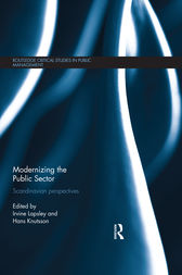 Modernizing the Public Sector by Irvine Lapsley