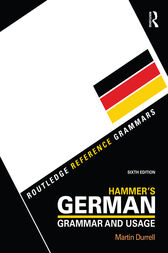 Hammer's German Grammar and Usage by Taylor and Francis