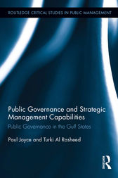 Public Governance and Strategic Management Capabilities by Paul Joyce