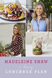 7 Day Lunchbox Plan by Madeleine Shaw