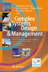 Complex Systems Design & Management by Gauthier Fanmuy
