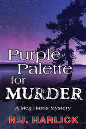 Purple Palette for Murder by R.J. Harlick